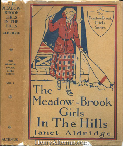 "meadowbrook girls The meadow-brook girls on the tennis courts chapter i smoke rings from the hills ""i want thome exthitement,"" complained grace thompson petulantly."